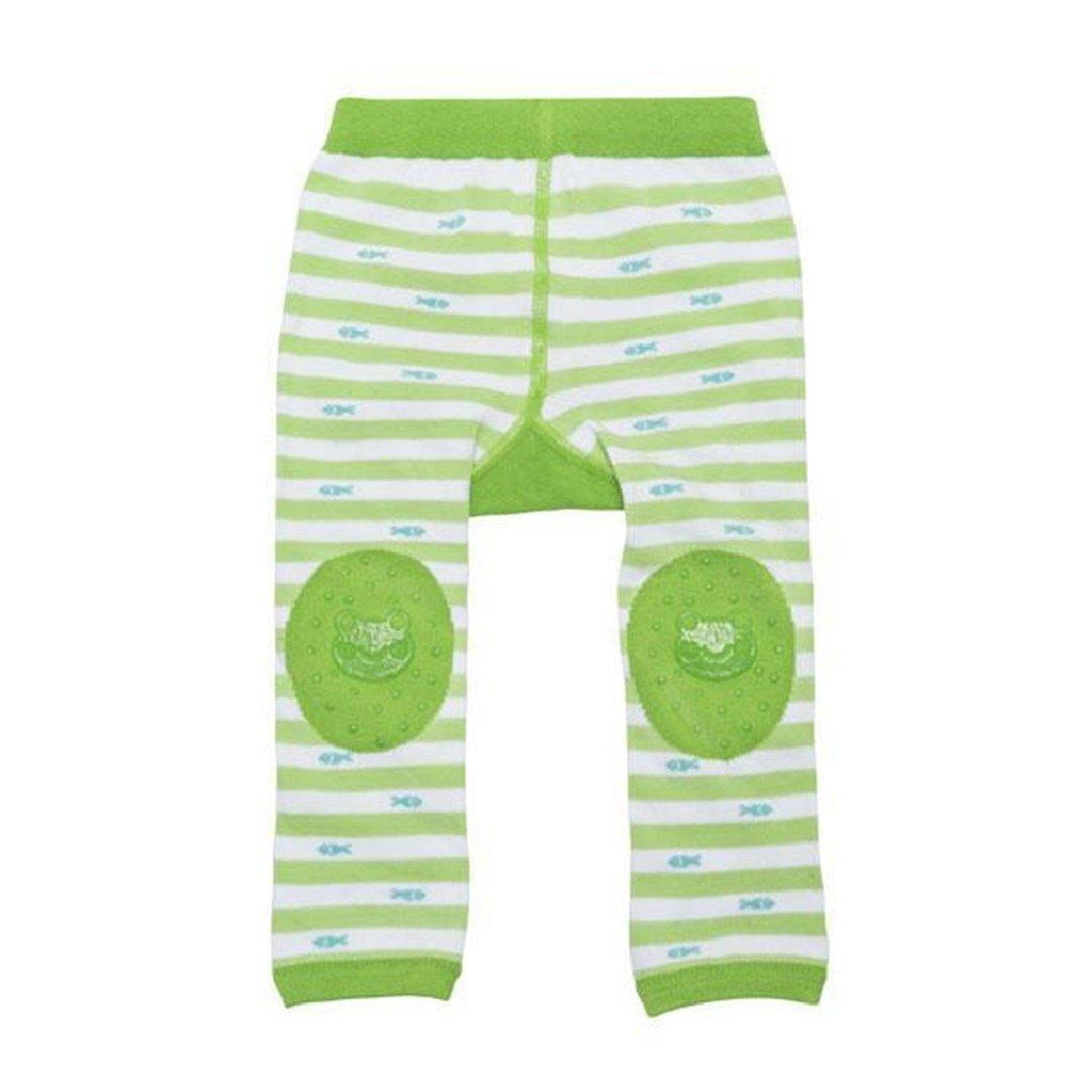 Conjunto Zoocchini Meias & Leggings Frog Green