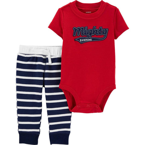 Conjunto Carter's Pant Striped Mighty