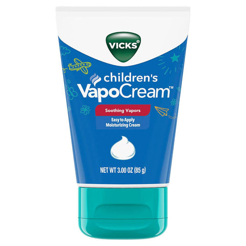 Creme Hidratante Vicks VapoCream Kids