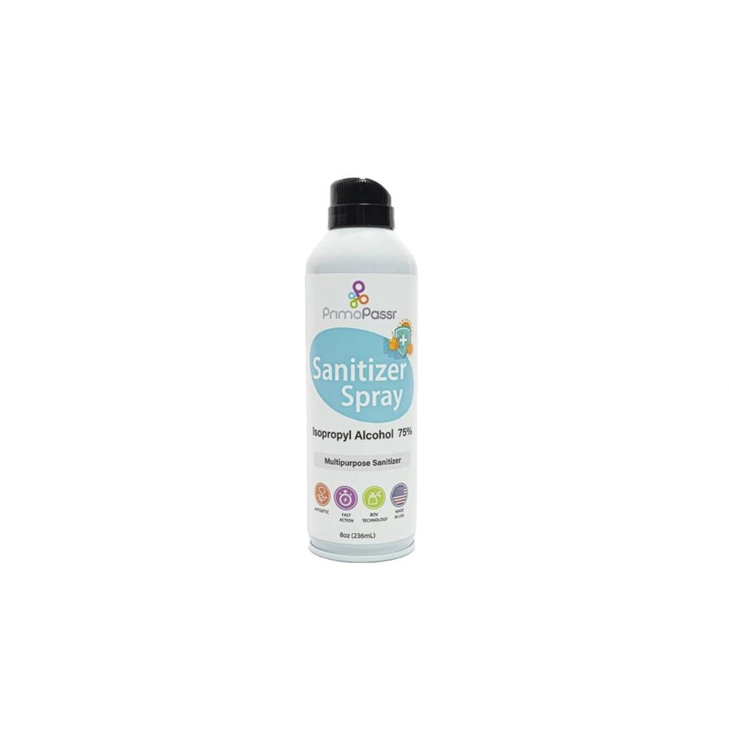 Spray Antibacteriano 236ML - Álcool Isopropílico 75% - Primo Passi
