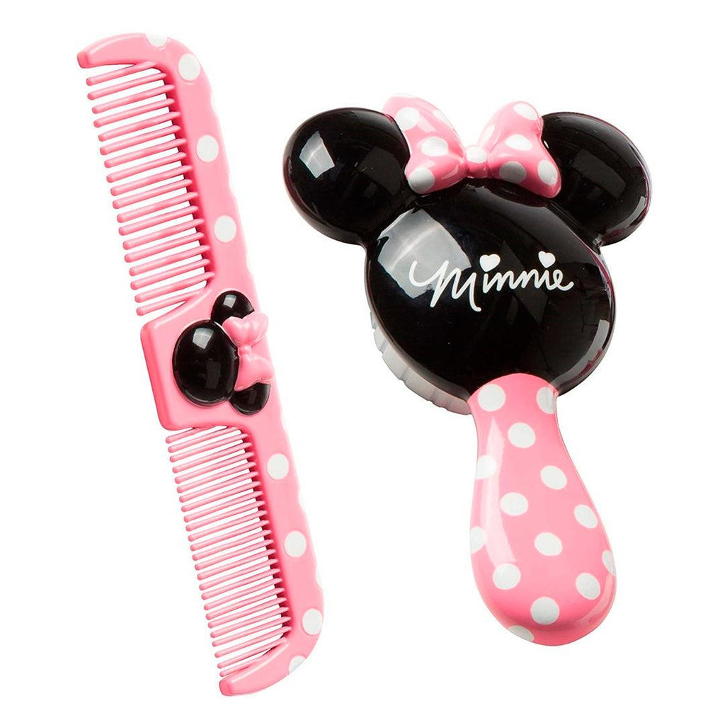 Kit Escova E Pente Disney Minnie Mouse