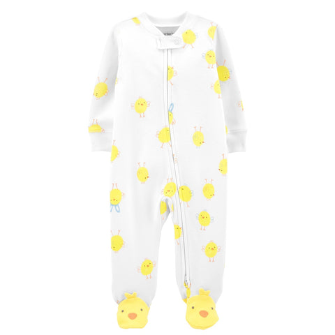 Macacão Carter's Cotton Footie Little Chick