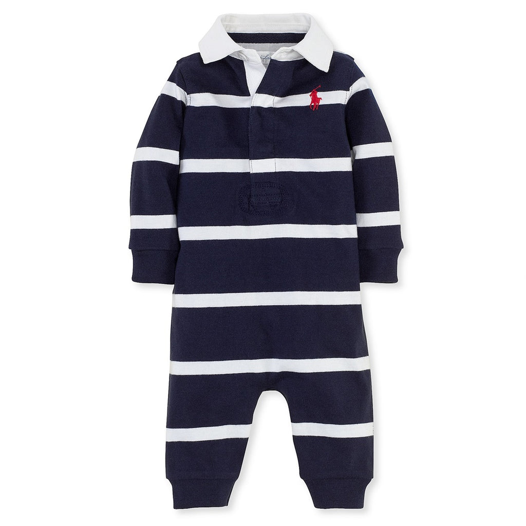 Macacão Polo Ralph Lauren Baby Striped