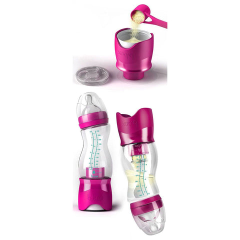 Mamadeira B.Box Com Mixer Rosa 240ML