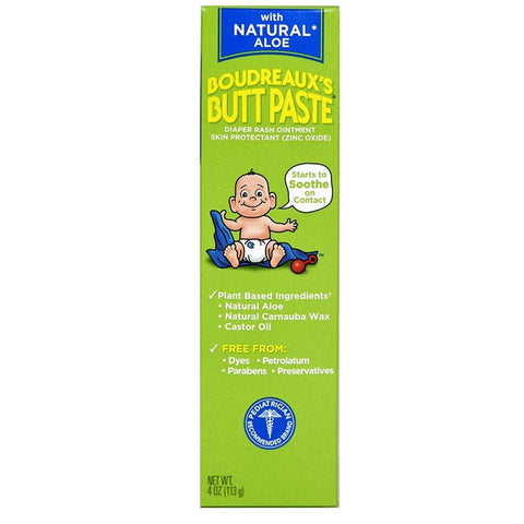 Pomada Boudreaux's Para Assadura Butt Paste Natural Aloe 113Gr