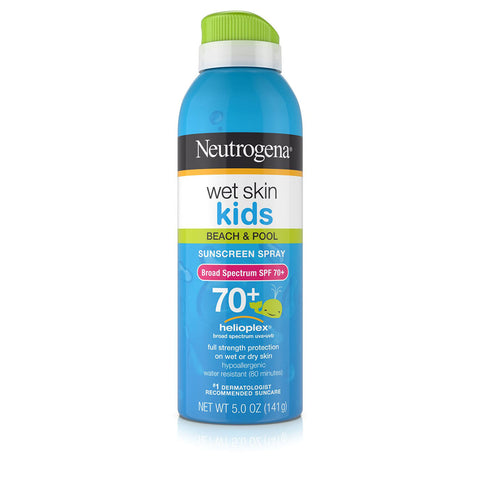 Protetor Solar Neutrogena Kids Wet Skin Spray 70+