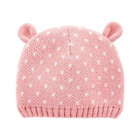 Touca Carter's Bear Pink