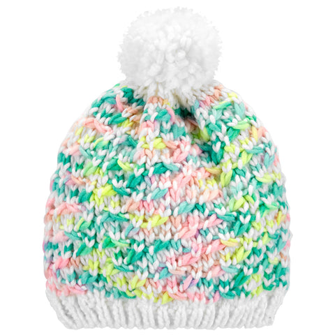Touca Carter's Pom Pom Colors
