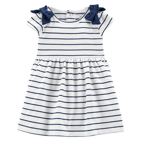 Vestido Carter's Navy Stripes