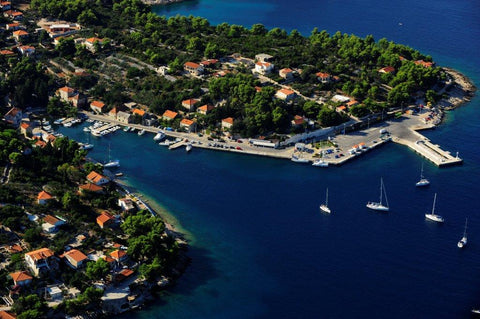 Island of Solta Croatia