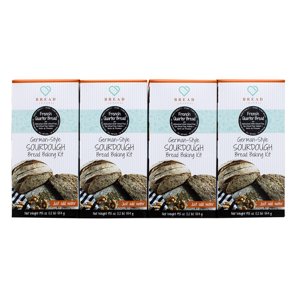 4- Variety Pack - French Quarter Bread Baking Kits - Breadlovers LLC