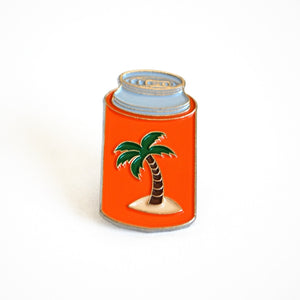 Chill Koozi Enamel Pin
