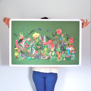 Castaways In The Jungle Limited Edition Art Print - Large