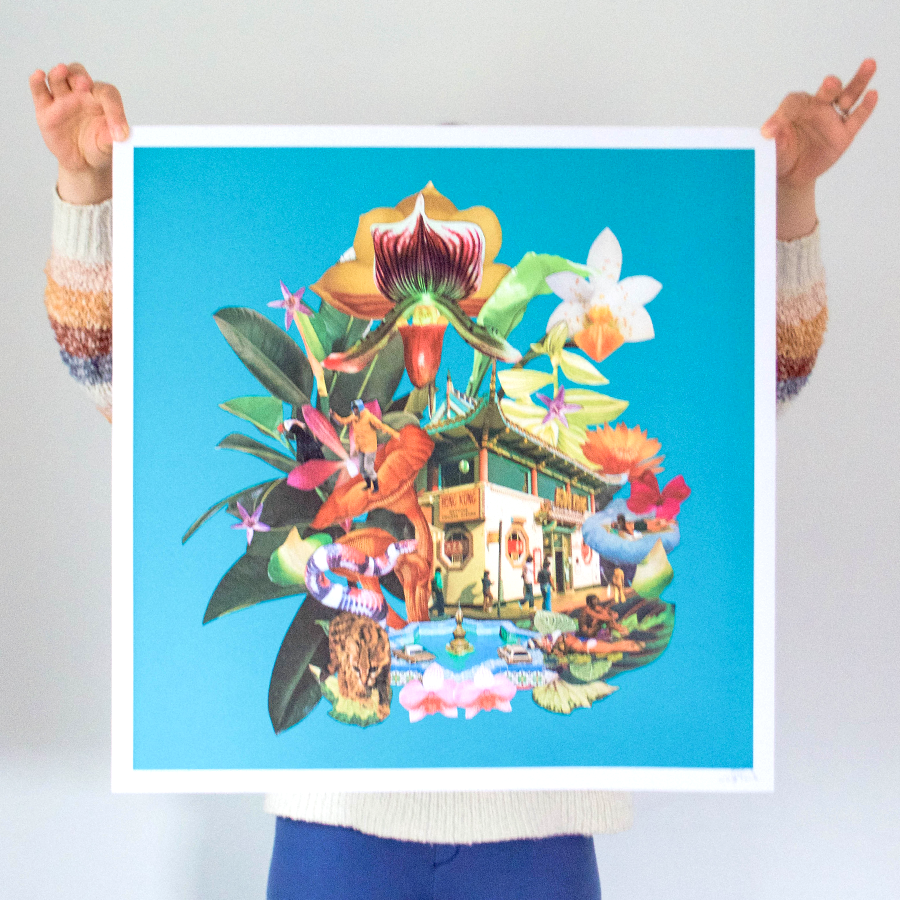 LA Chinatown Limited Edition Print