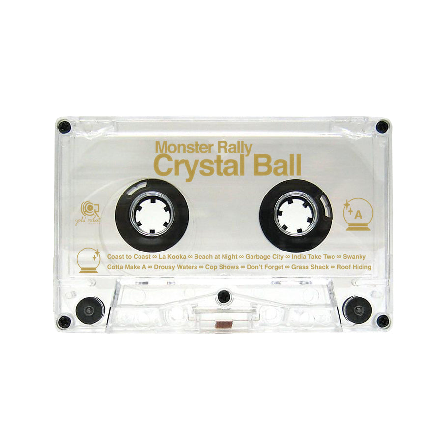 Monster Rally // Crystal Ball Cassette Tape