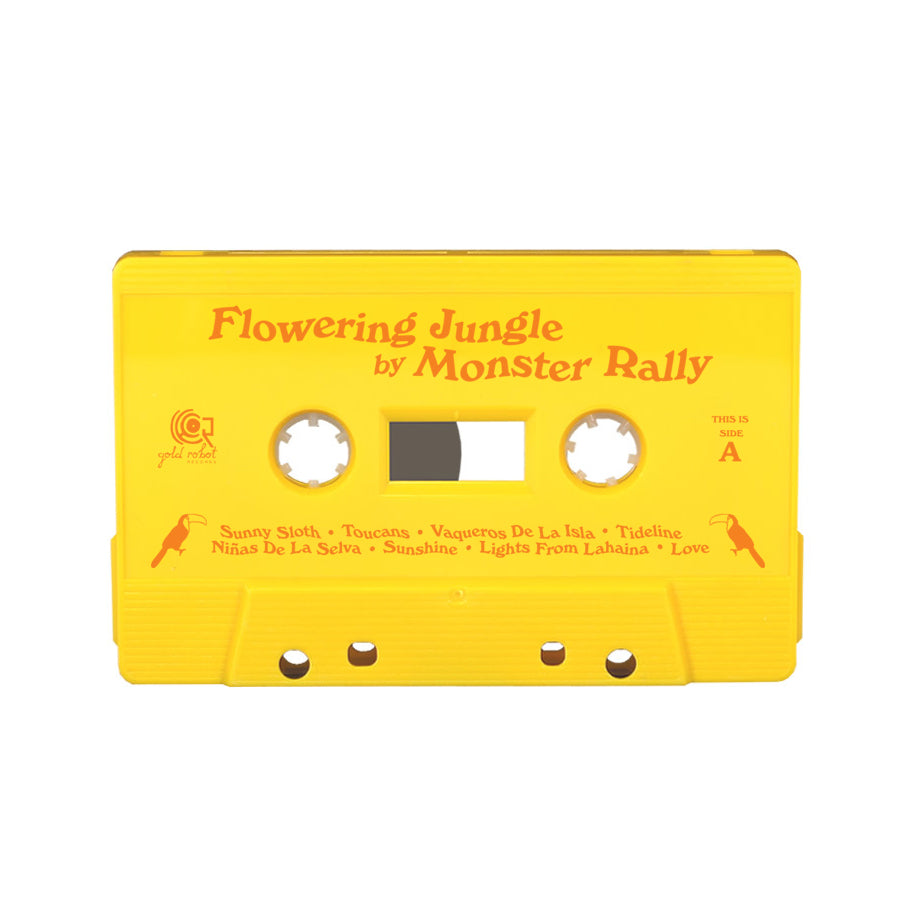 Monster Rally // Flowering Jungle Cassette Tape