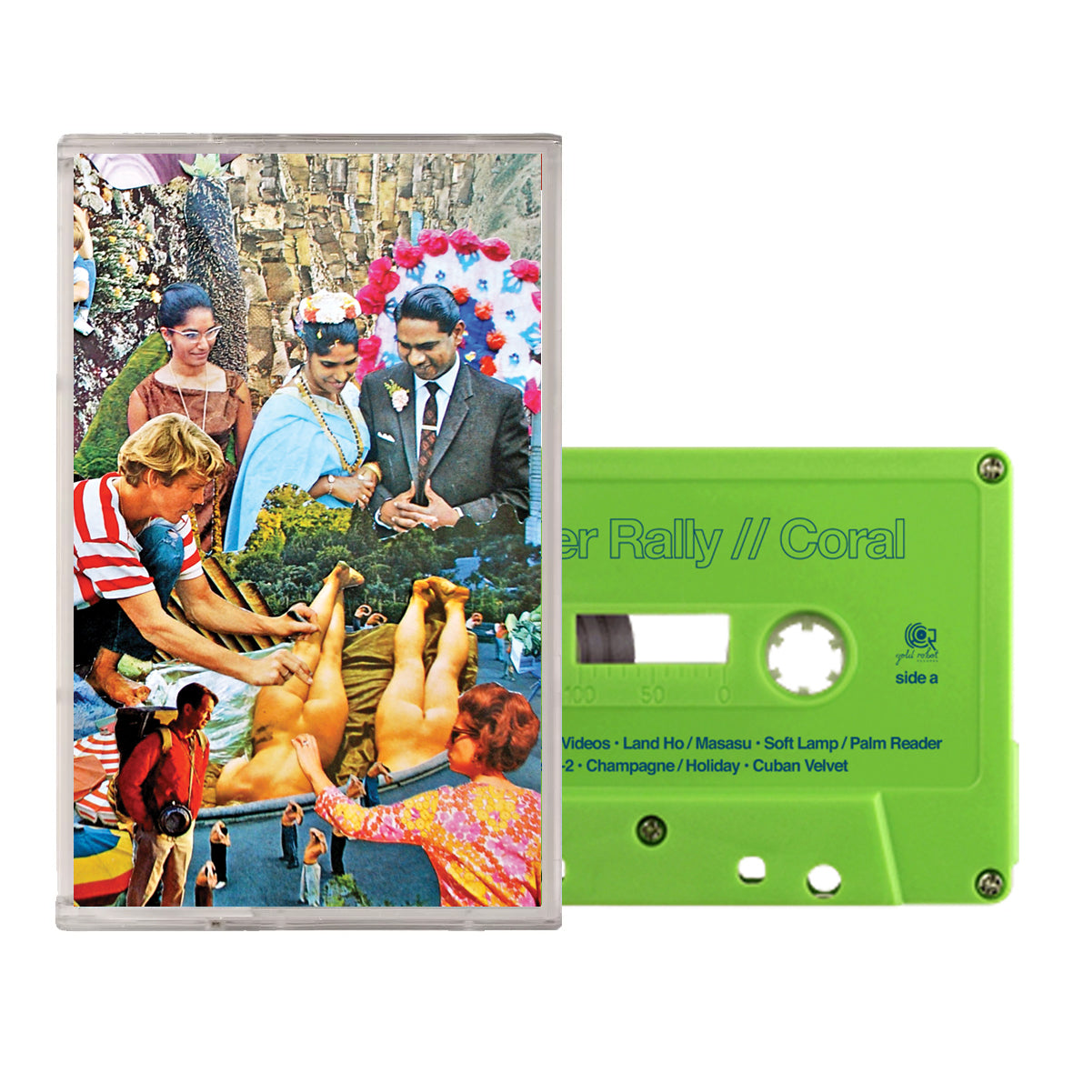 Monster Rally // Coral Cassette Tape