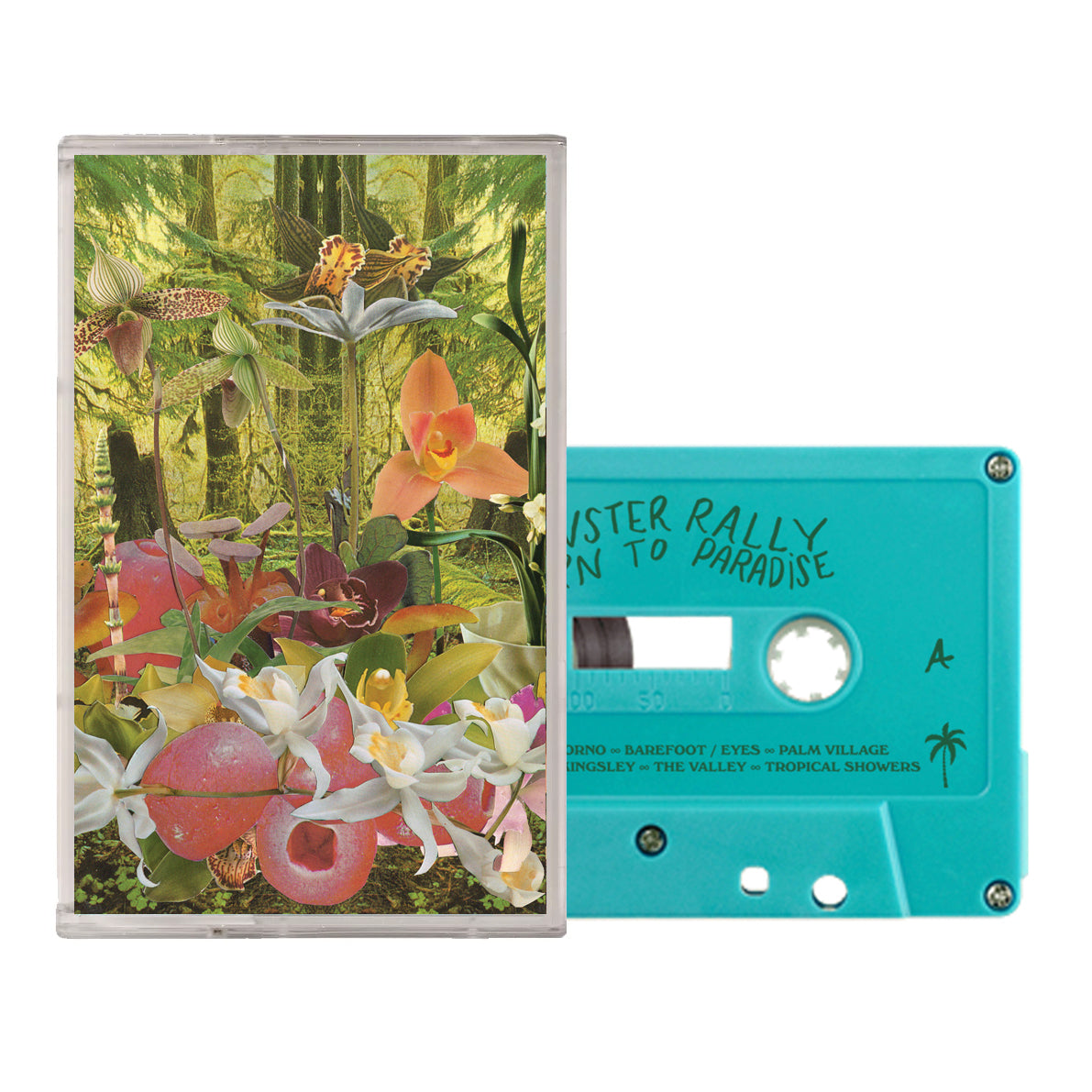 Monster Rally // Return to Paradise Cassette Tape