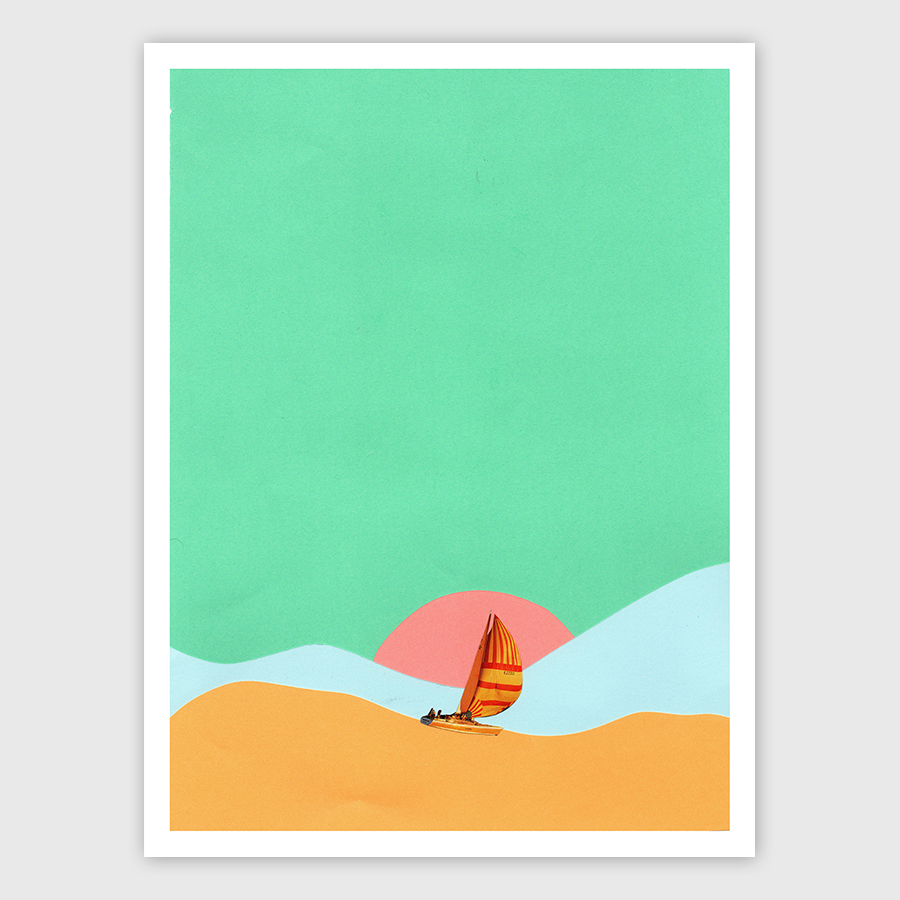 Smooth Seas Art Print