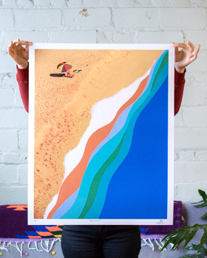Tide's Coming In Art Print