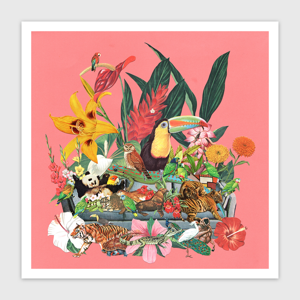 Desert Island Limited Edition Art Print
