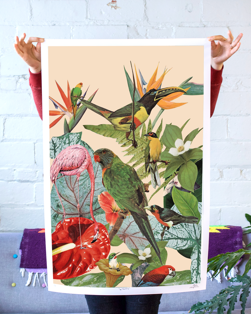 Jungle Birds Art Print