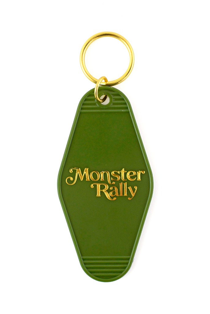 Monster Rally Motel Keychain