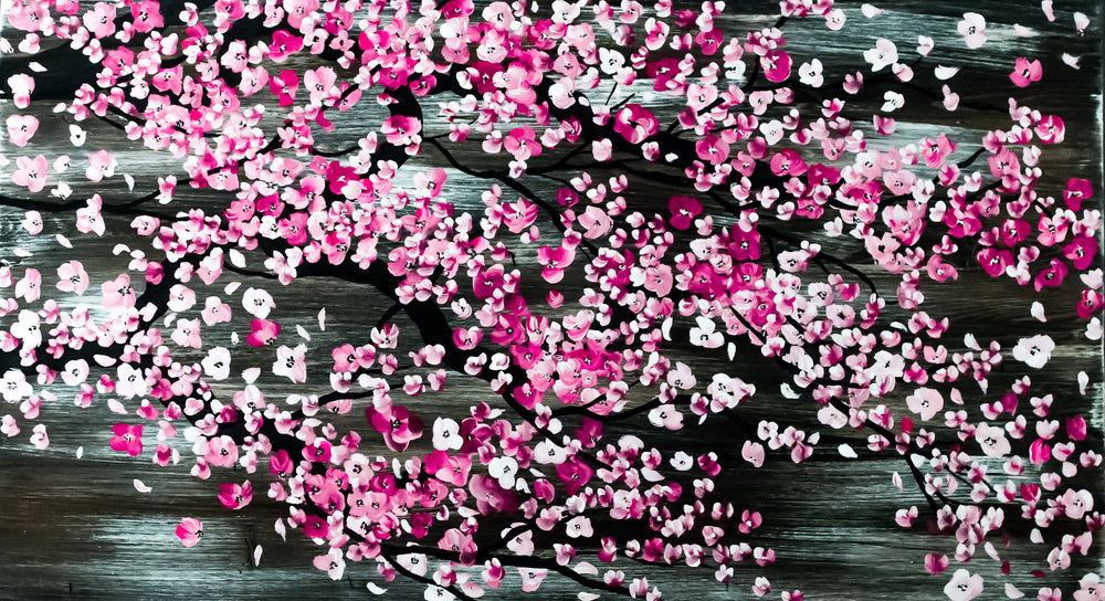 Cherry Blossoms - Yvonne Dixon Art