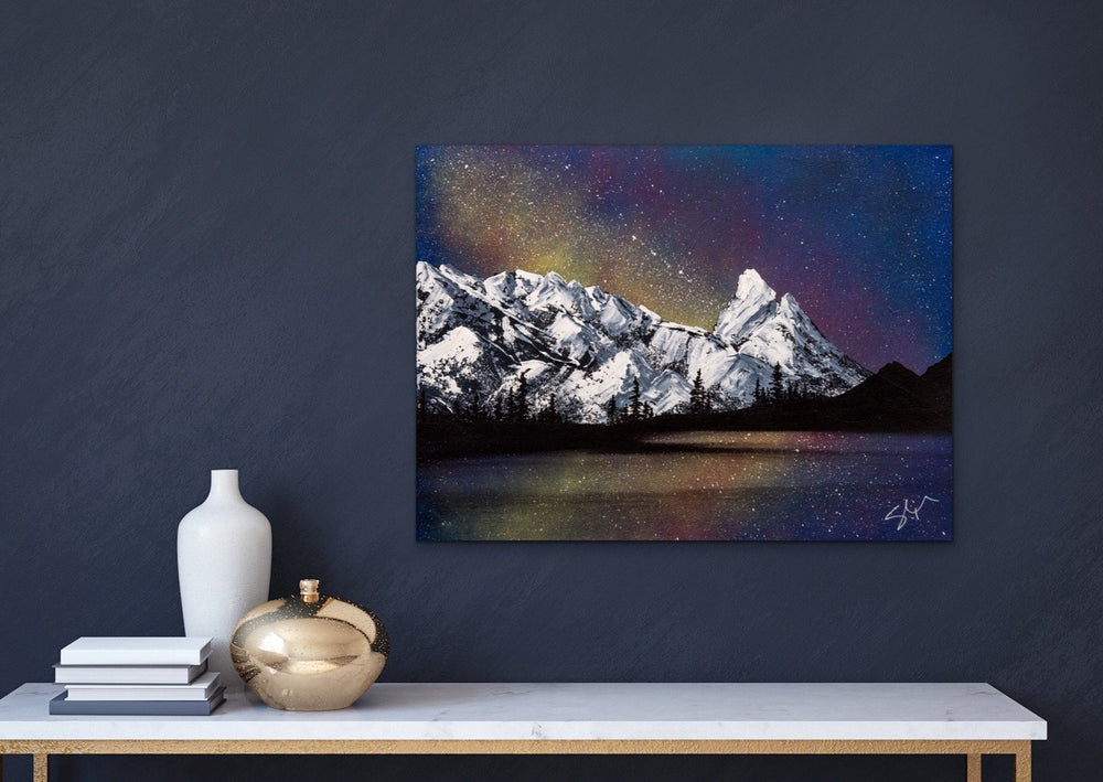 Night Sky - Yvonne Dixon Art
