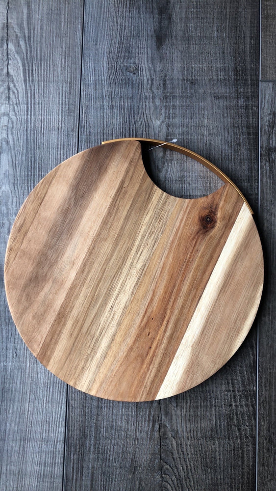 Bamboo Charcuterie Board with Handles