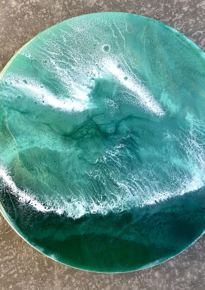 Seafoam Waves - Yvonne Dixon Art