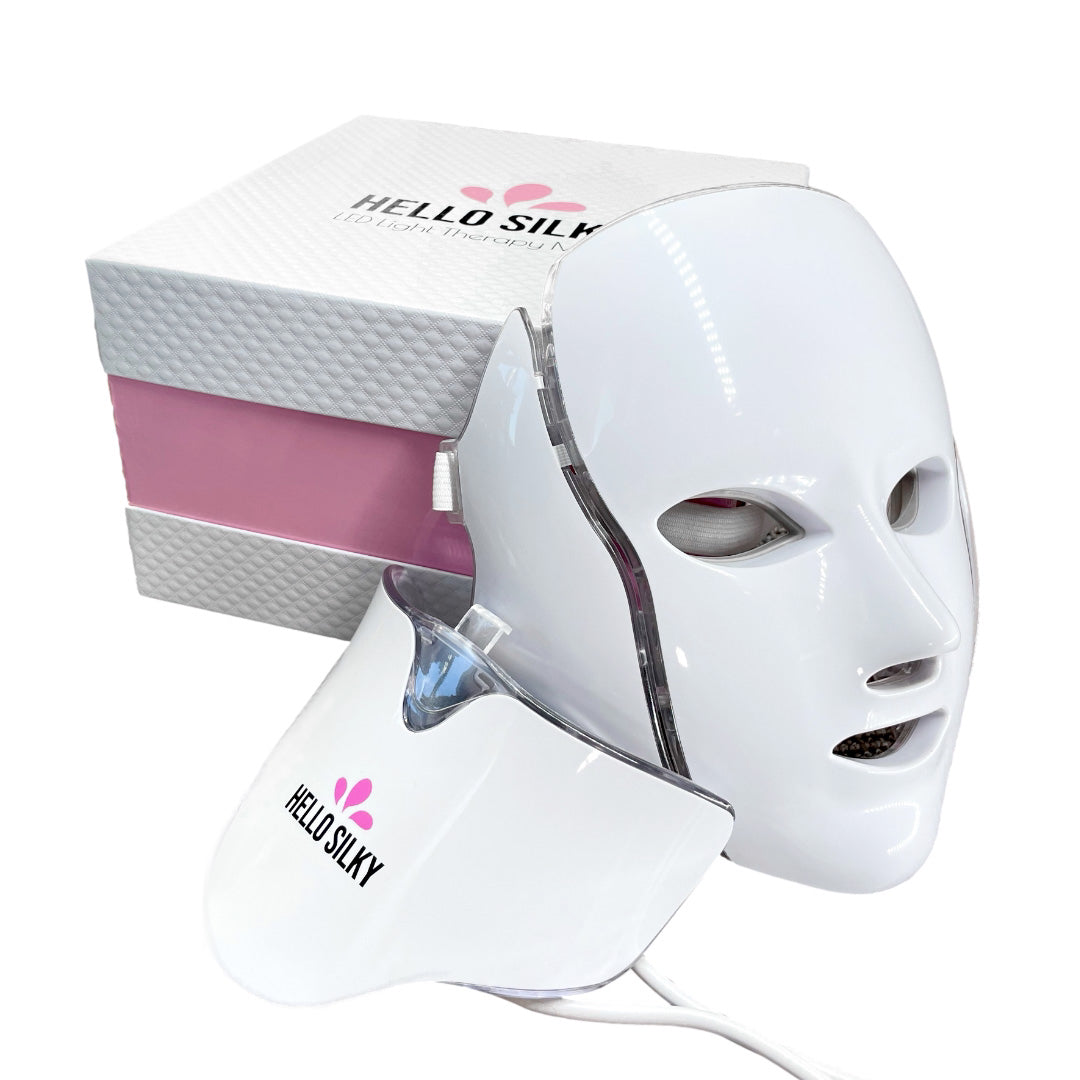 LED Light Therapy Mask Facial & Neck