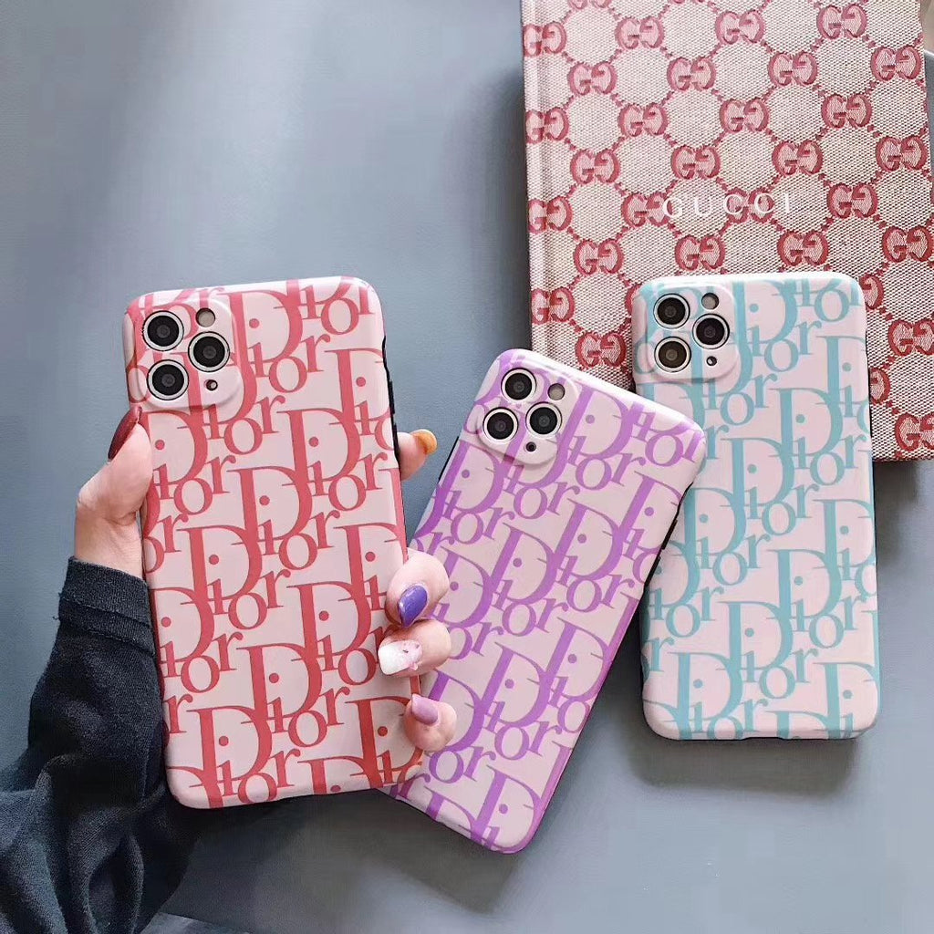 Coloful Design D Printed Phone Case For All iPhone
