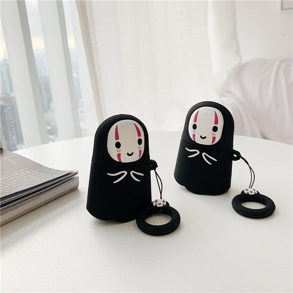 Cute Doll Shape Headphone Case For Airpods