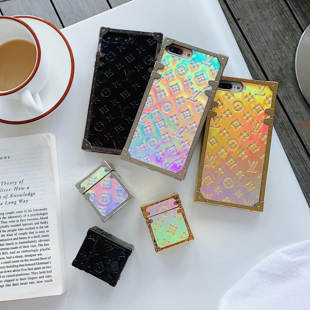 Dazzle Laser Fashion Girl Phone Case For iPhone