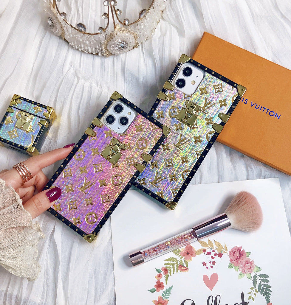 Gliding Printed Phone Case For iPhone