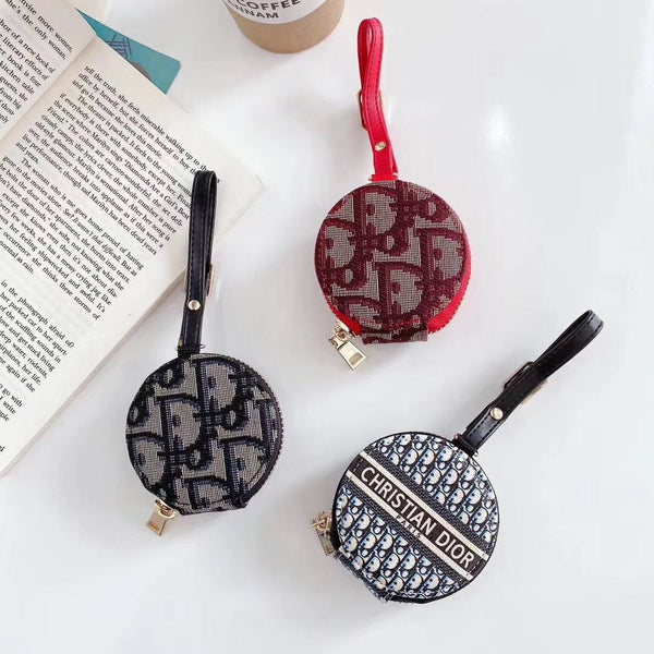Embroidery Letter Printed Headphone Case For Airpods