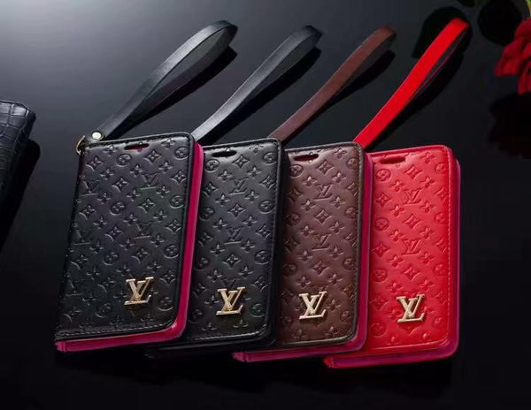 Luxury brand iPhone Wallet Case