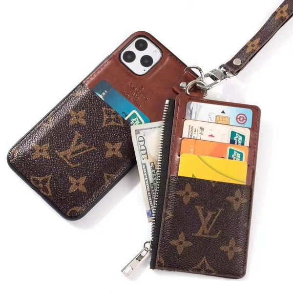 Fashionable iPhone Case With Wallet