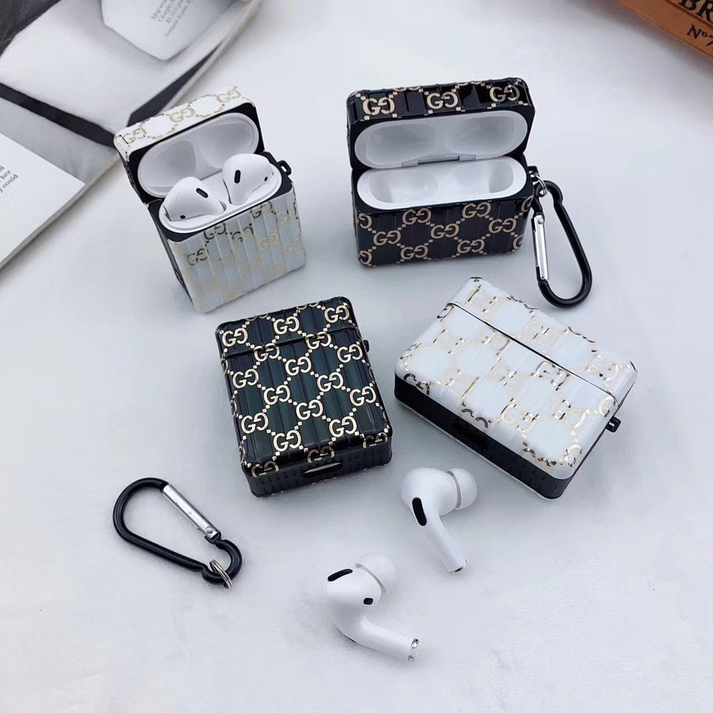 Full of Letter Printed Headphone Case For Airpods