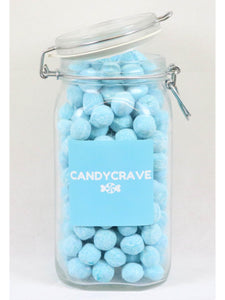 Blue Raspberry Bon Bons Clip Top Jar