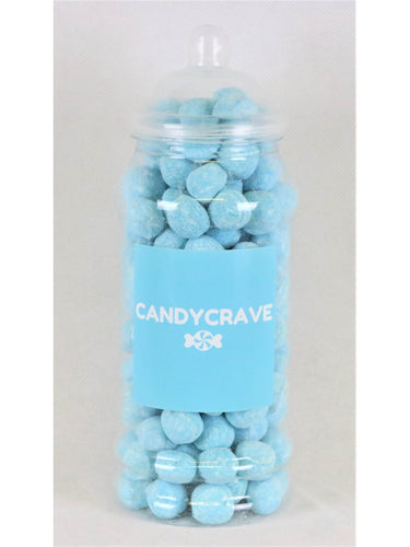 Blue Raspberry Bon Bons Medium Retro Jar