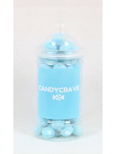 Blue Raspberry Bon Bons Small Retro Jar