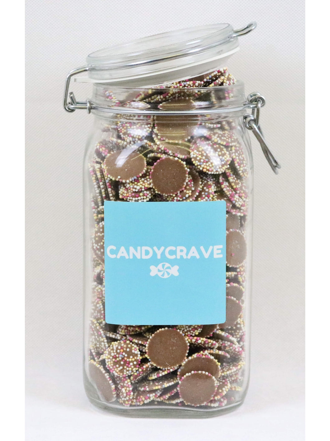 Brown Jazzles Clip Top Jar
