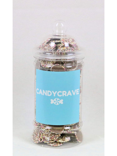 Brown Jazzles Small Retro Jar