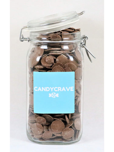 Chocolate Buttons Clip Top Jar