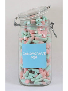 Fizzy Bubblegum Bottles Clip Top Jar