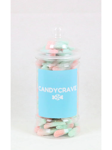 Fizzy Bubblegum Bottles Small Retro Jar