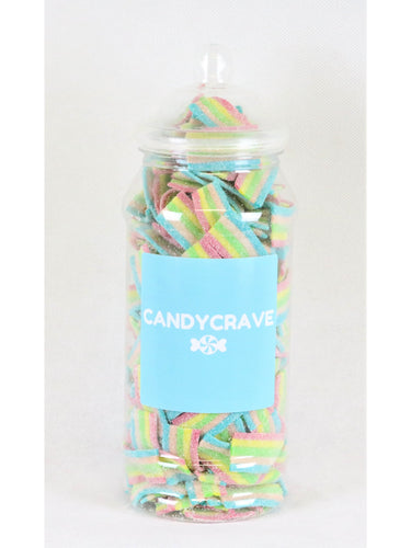 Fizzy Rainbow Bites Medium Retro Jar