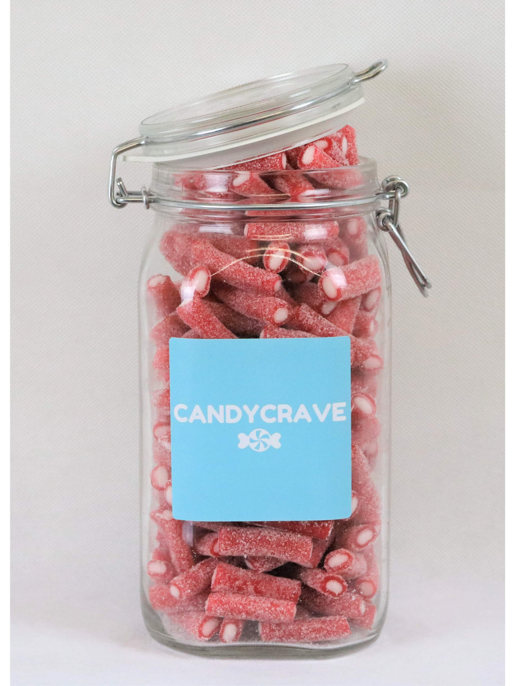 Fizzy Strawberry Pencils Clip Top Jar